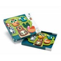 Puzzle lemn cu animale Oski Djeco