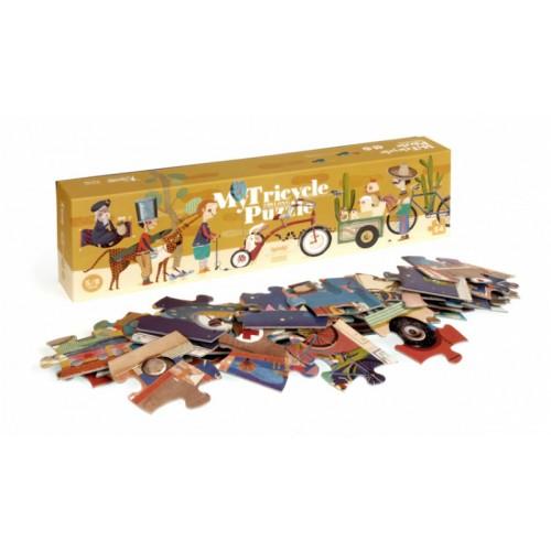 Puzzle tricicleta Londji