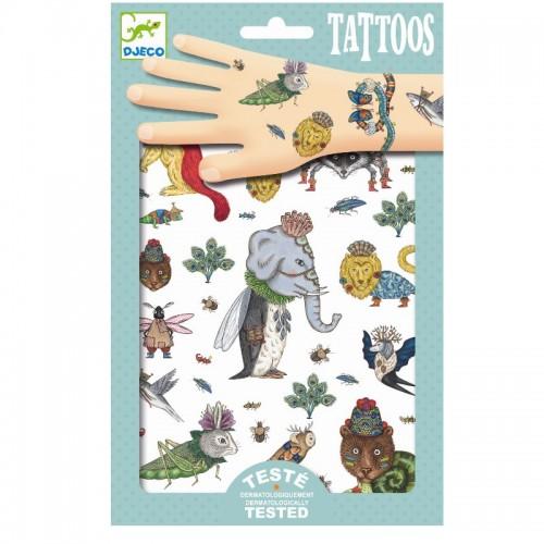Tatuaje cu animale Djeco