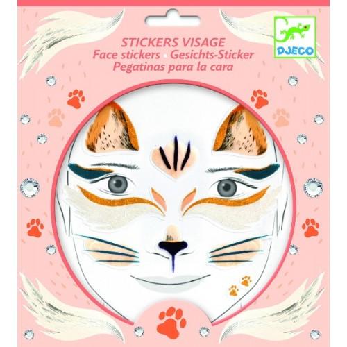Stickere pentru fata pisica Djeco