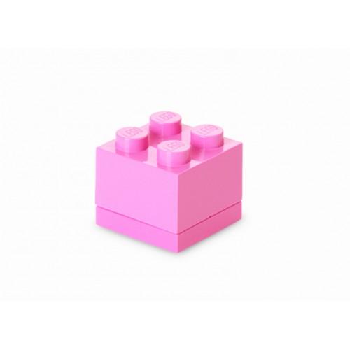Mini cutie depozitare LEGO 2x2 roz