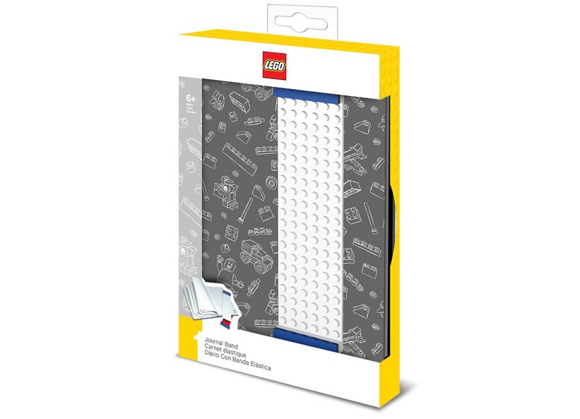 Agenda Lego gri
