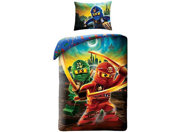 Lenjerie de pat Lego Ninjago Movie 3