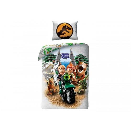 Lenjerie de pat Lego Jurassic World
