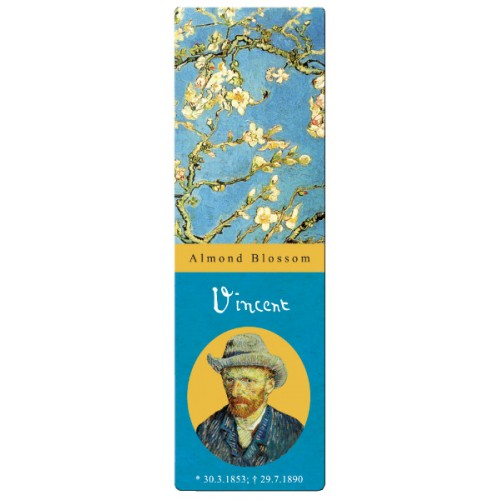 Semn de carte Van Gogh copac inflorit Fridolin