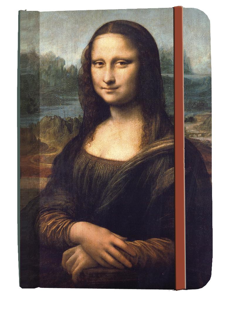 Agenda Da Vinci Mona Lisa Fridolin