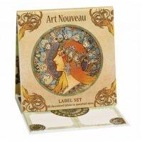 Etichete Art Nouveau Fridolin