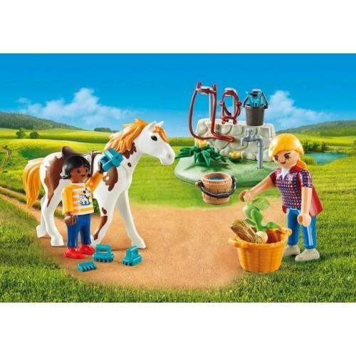 Set Portabil- Copii Cu Cal