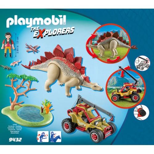 Cercetator - Masina De Teren Si Stegosaurus