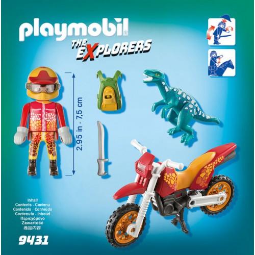 Cercetator - Motociclist Si Raptor