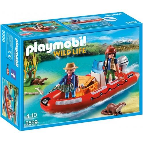 Cu Barca Gonflabila Cu Cercetatori, Copiii Pot Descoperi Cele Mai Ascunse Rauri.