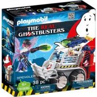 Spengler si masinuta Playmobil Ghostbusters