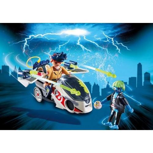 Ghostbuster - Stantz Si Motocicleta