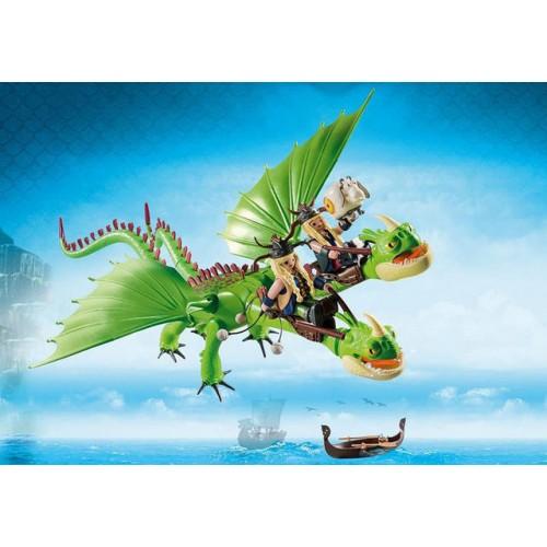 Gemeni Cu Barf Si Belch,Dragons, Playmobil