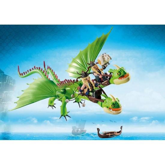 Gemeni cu Barf si Belch Playmobil Dragons