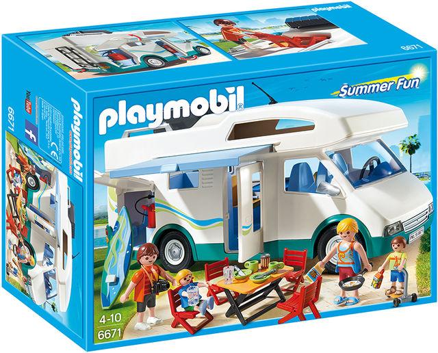 Masina de camping Playmobil Summer Fun