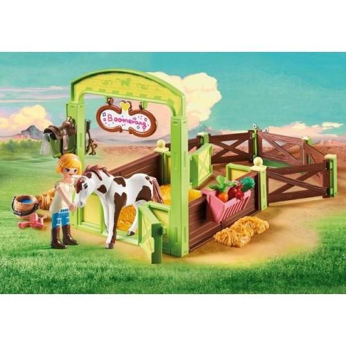 Spatiu Ingrijire Cai - Abigail & Boomerang,Spirit,Playmobil