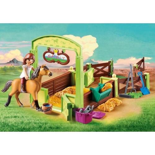Spatiu Ingrijire Cai - Lucky & Spirit,Playmobil