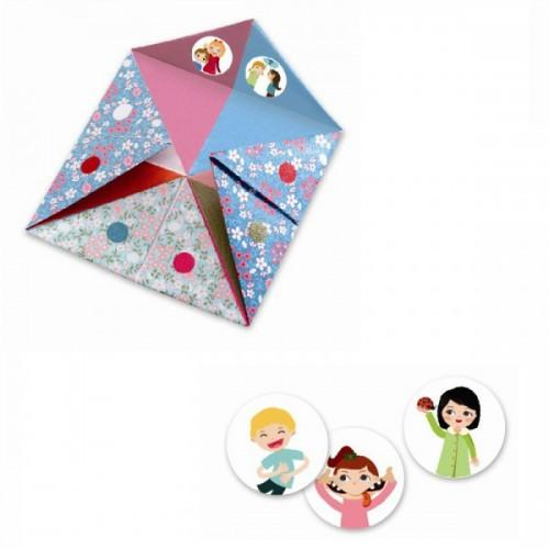 Creeaza origami initiere pentru fetite Djeco