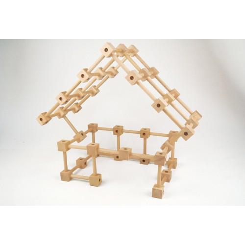 Joc de constructie de lemn Koobi start