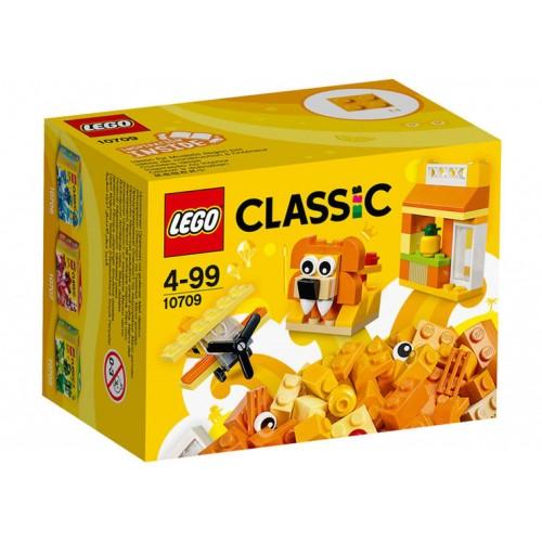 Lego Classic - Cutie portocalie de creativitate