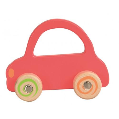 Masina lemn rosie Egmont Toys