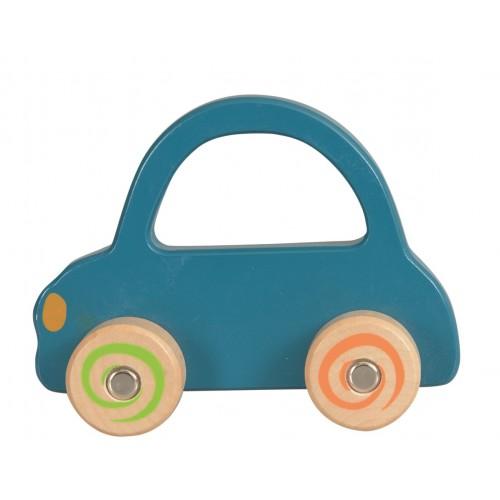 Masina lemn albastra Egmont Toys