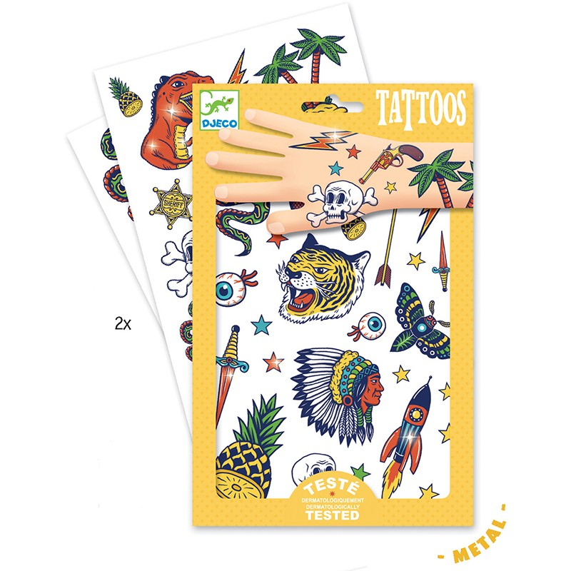 Tatuaje copii bang bang Djeco