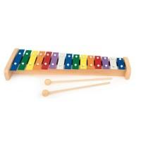 Xilofon colorat cu 15 note Egmont Toys