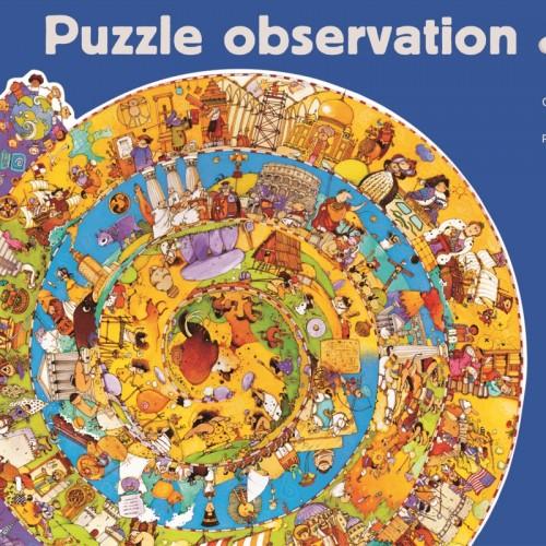 Puzzle observatie evolutie djeco