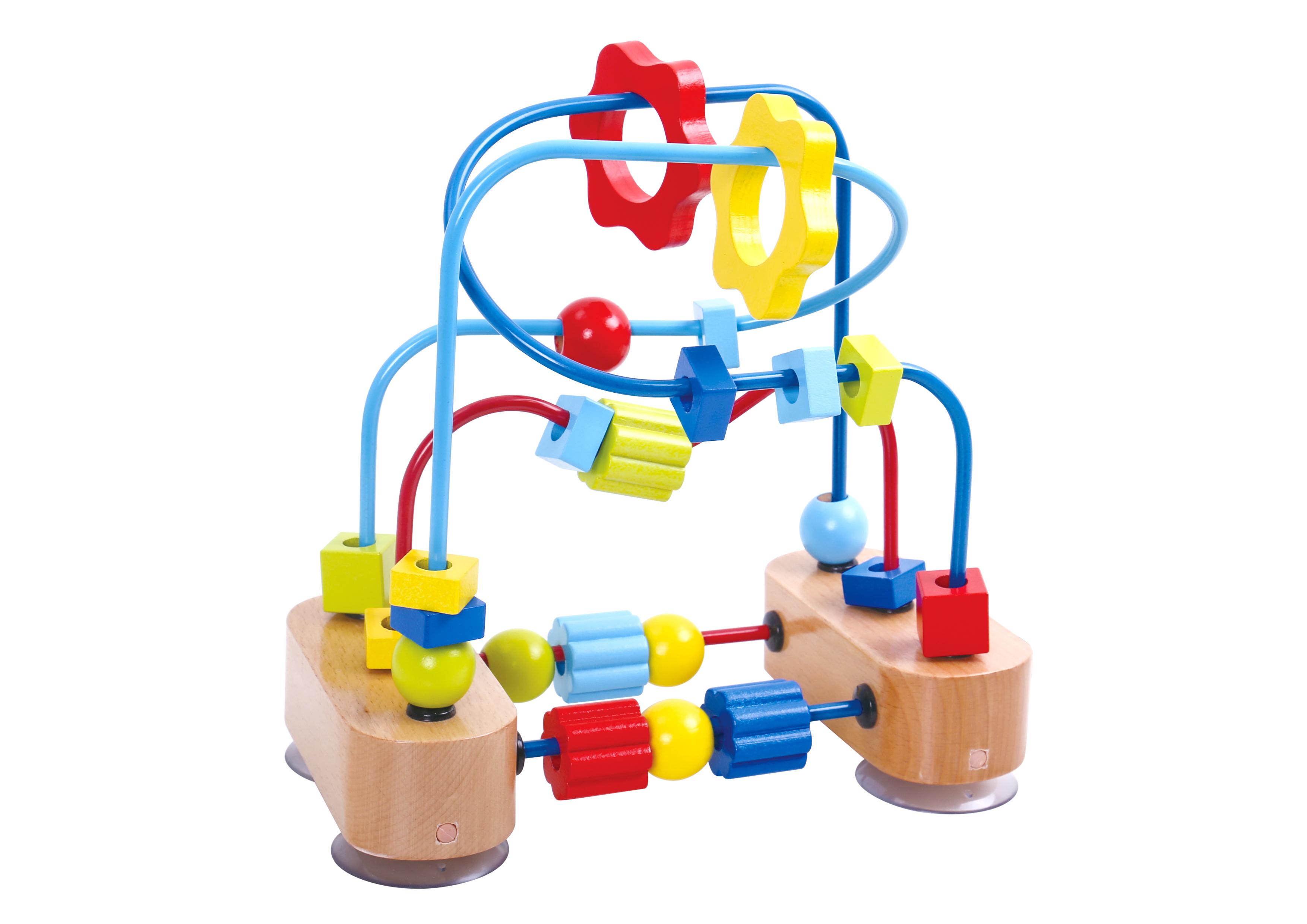 Labirint margele pentru dexteritate tooky toy imagine