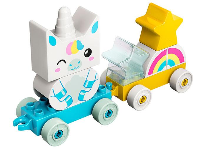 Primul meu unicorn lego duplo - 1