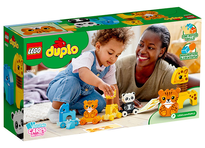 Trenul animalelor lego duplo - 1