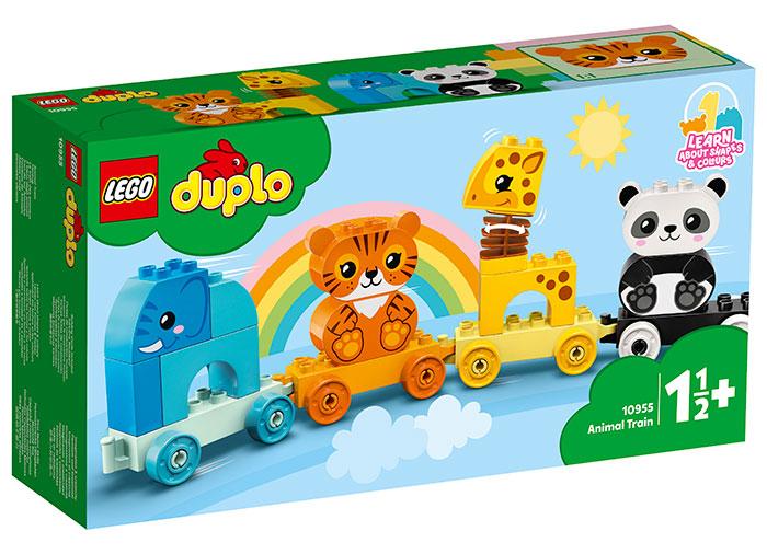 Trenul animalelor lego duplo