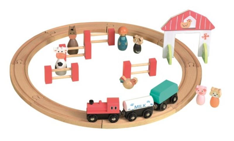 Circuit tren si figurine egmont toys imagine