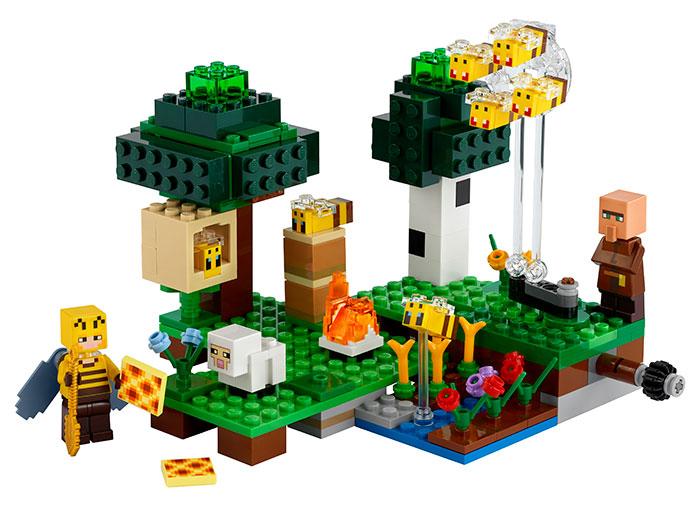 Ferma albinelor lego minecraft - 2