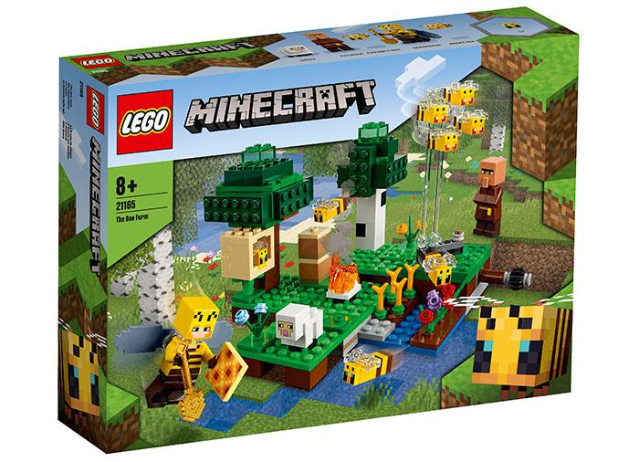 Ferma albinelor lego minecraft