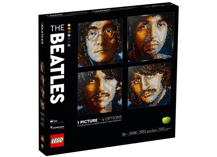 The beatles lego art