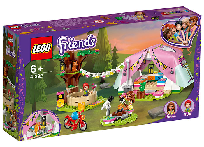 Camping luxos in natura lego friends