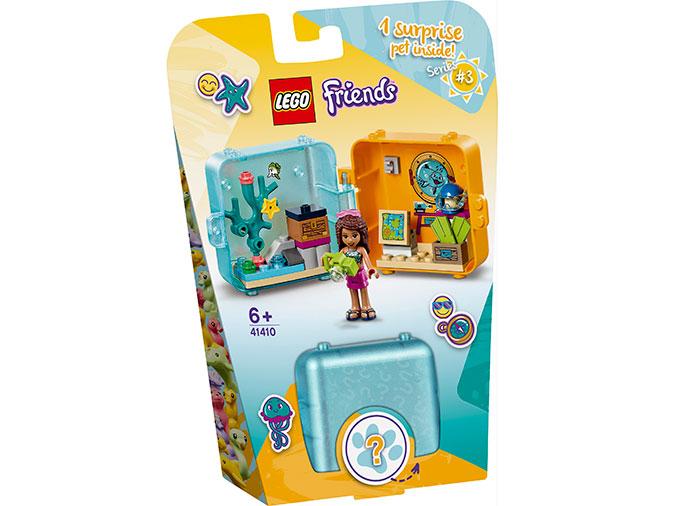 Cubul jucaus de vara al andreei lego friends