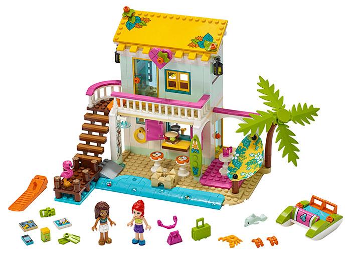 Casa de pe plaja lego friends - 2