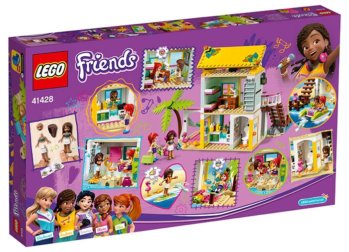 Casa de pe plaja lego friends - 1