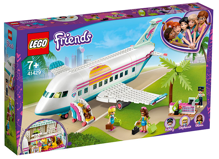 Avionul heartlake city lego friends