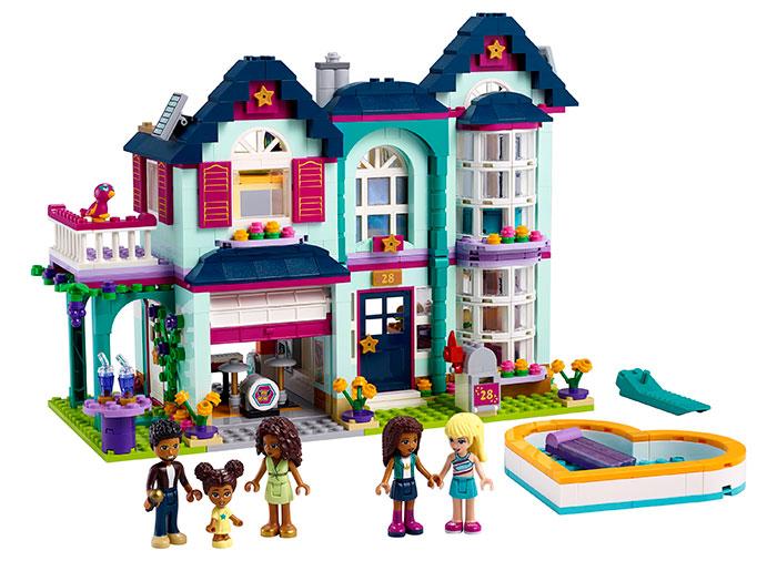 Casa familiei andreei lego friends - 2