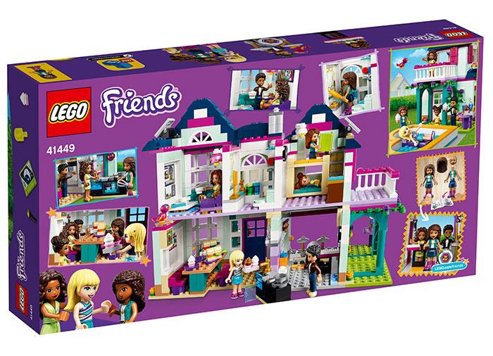 Casa familiei andreei lego friends - 1