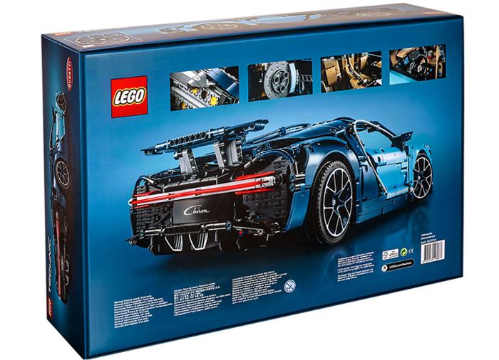 Bugatti chiron lego technic - 3