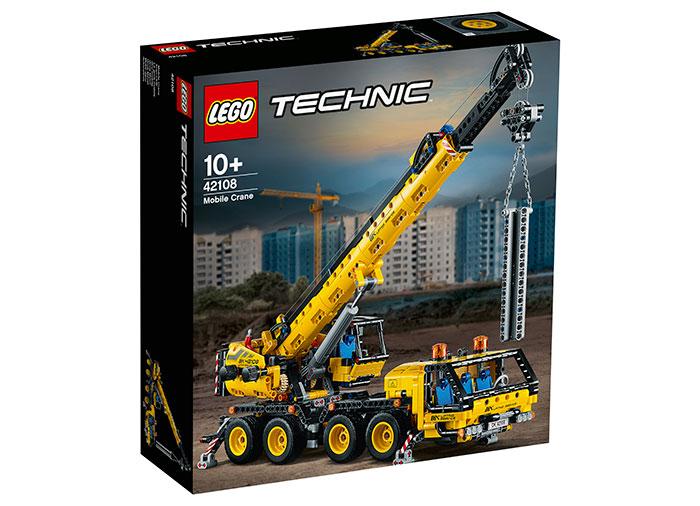 Macara mobila lego technic