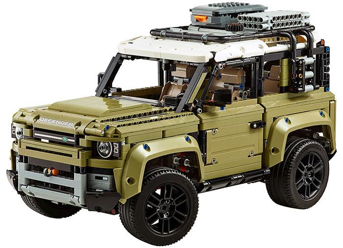 Land rover defender lego technic - 2
