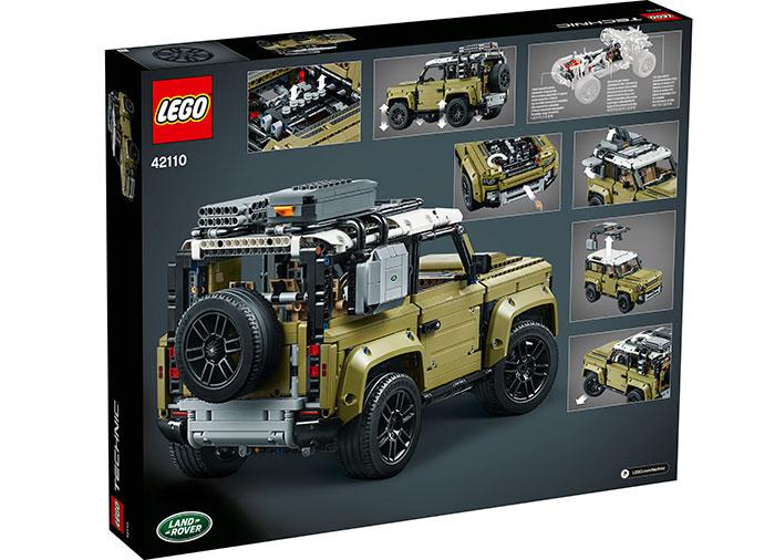 Land rover defender lego technic - 1