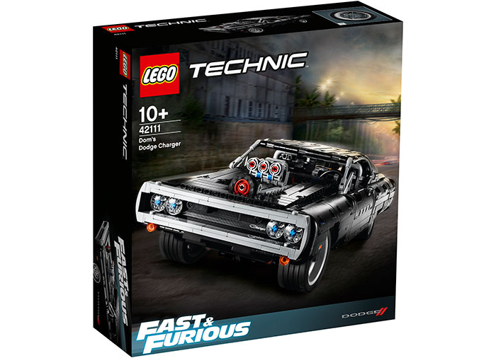 Dom's dodge charger lego technic